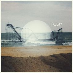 The Collective Loop - Playlist cover art 47 #rollercoaster #thecollectiveloop #music #beach #coverart