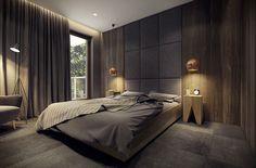 Modern Bedroom °1 - Apartment °1 #modern #bedroom #cameradaletto #moderna #appartamento #moderno