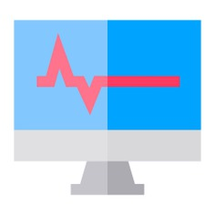 See more icon inspiration related to heartbeat, beat, scanner, healthcare and medical, heart rate, electronics, pulse, heart, signal, monitor and computer on Flaticon.