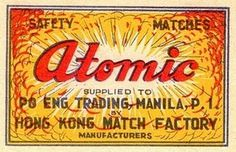 MR. MULE's TYPOGRAPHIC SHOWROOM AND EMPORIUM #retro #atomic #matches #vintage #type