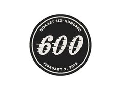 Dribbble - 600 by Tony Lane #mark #retro #black #speed #logo #racing