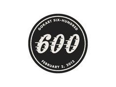 Dribbble - 600 by Tony Lane #mark #retro #black #speed #logo #racing