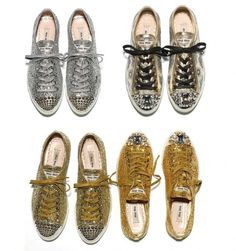 Creative Boys Club » shoes #silver #shoes #gold #designer #glitter #sparkle