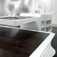 HI-MACS at 100% Design #kitchen