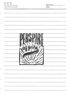 Inspire #ink #inspire #renielguiao #retro #freehand #illustration #aspire #vintage #manila #drawing #typography