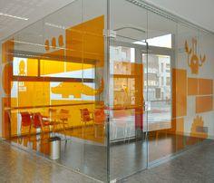 Biblioteca del Sud signage system #signage #txellgracia #illustration #identity