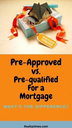 The Difference Between Preapproved vs Prequalified Infographic