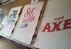 #typography #signage #painted #custom