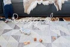 Liza Savary, an ingenious and most-likely frustrated mom herself, has created Ruggish Play Rugs to do it all: keep the kids occupied and kee