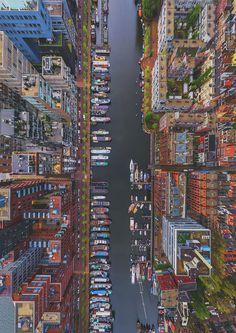 Westerdok Disctrict, Amsterdam, Netherlands