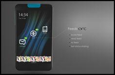 arc || social phone #phone #ux #ui #concept #mobile #device #social