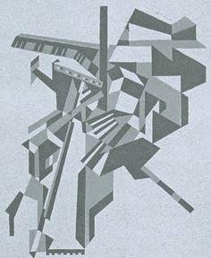 sit down man, you're a bloody tragedy: Socialists! Where Is Your Vortex? #vorticist #cubism #wadsworth #mytholmroyd