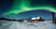 Northern Lights by Dave Brosha #inspiration #photography #light