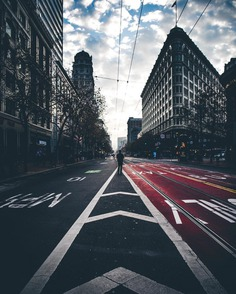 Futuristic and Cinematic Urban Landscapes by Resh Ryan
