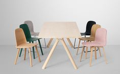 Split Table by Staffan Holm #modern #design #minimalism #minimal #leibal #minimalist