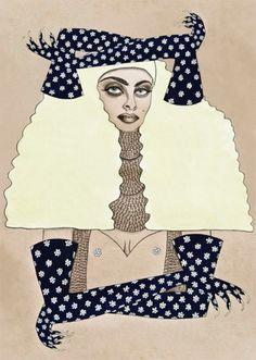 The Black Harbor    Tara Dougans #tara #illustration #fasion #dougans