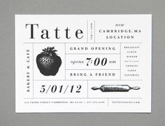 Grand opening #grand opening #card #typography