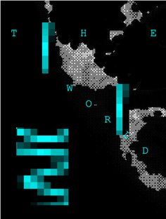 The world #spain #sandra #world #pixel #guerrero #poster #murcia #trend #cool