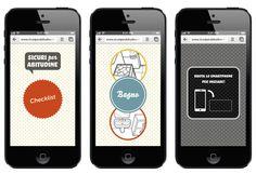 Sicuri per abitudine | Website #web design #checklist #social campaign