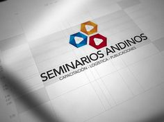 Seminarios Andinos Identity System on the Behance Network #stationary #logo #corporat #branding