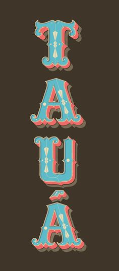 Lettering and Packaging Project on Behance #3d #old style