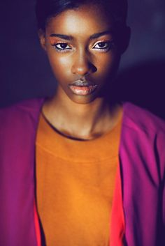 Fashion photography(Fresh Face | Crystal Noreiga by Nando Esparza, via fashiongonerogue) #fashion