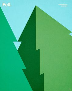 Rob Bailey | NorthTeaPower #illustration #green #trees #fell