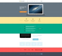 Full #simple #layout #flat #web