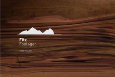 Rediseño de marca para Fitz Footage - Gorricho / Estudio de Diseño - Diseño de marcas y producción gráfica. #logo #brand #mountain #gorricho