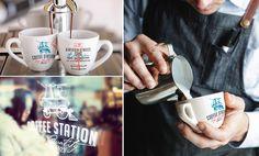 Coffee, design, brand