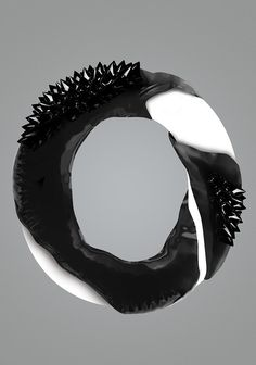 ferrofluid type #typography #ferrofluid