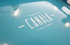 Canalla on Behance #interior #futura #space #restaurant #canalla #exterior #manifiesto