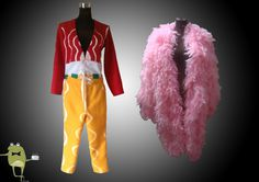 One Piece Donquixote Doflamingo Cosplay Costume Coat #doflamingo #cosplay #coat