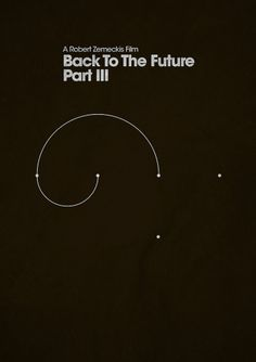 ShootTheGlass — Back To The Future Part III #infographics #the #back #pos #posters #minimal #movies #future #to