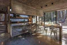 Forest Concrete House by Besonias Almeida Arquitectos 5
