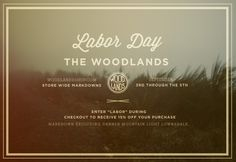 The Woodlands - News