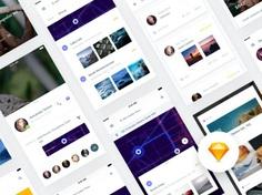 Free Travel App UI Concept