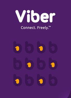 Viber Brand Identity and not only