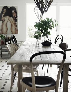 Kvarngården: country house #interior