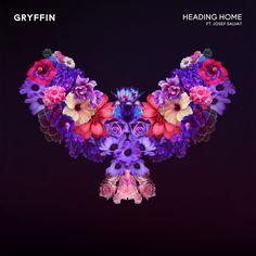 Gryffin - Heading Home Artwork by Quentin Deronzier #artwork #cover #albumart #coverart #flower #bird