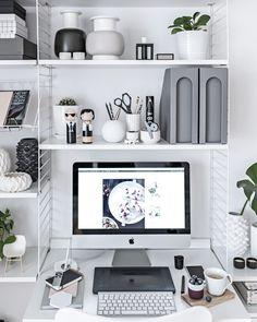 Home Office – Scandinavian Workspace