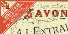 vintage packaging #script #vintage #custom #type #detail