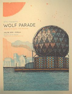 GigPosters.com - Wolf Parade - Moools, The #illustration #poster