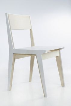 hug chair : ana kraš #white #chair #design #wood #hug