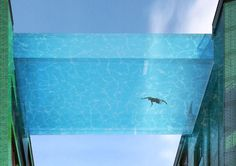 Suspended Glass Swimming Pool