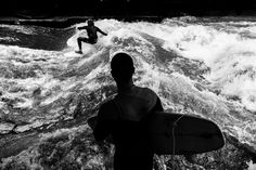 The Surfers of Munich on Behance