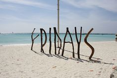 Boracay Philippines #ocean #fridays #photography #sand #sticks #beach #typography