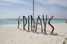 Boracay Philippines #ocean #fridays #photography #sand #sticks #beach #typography