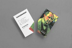 The Hungarian Guggenheim on Behance #card #brand #business
