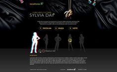 Landing sylviaday #webdesign